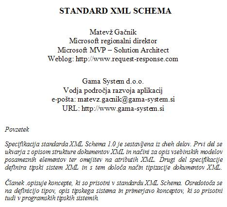 XML Schema